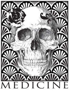 Art Deco Skull