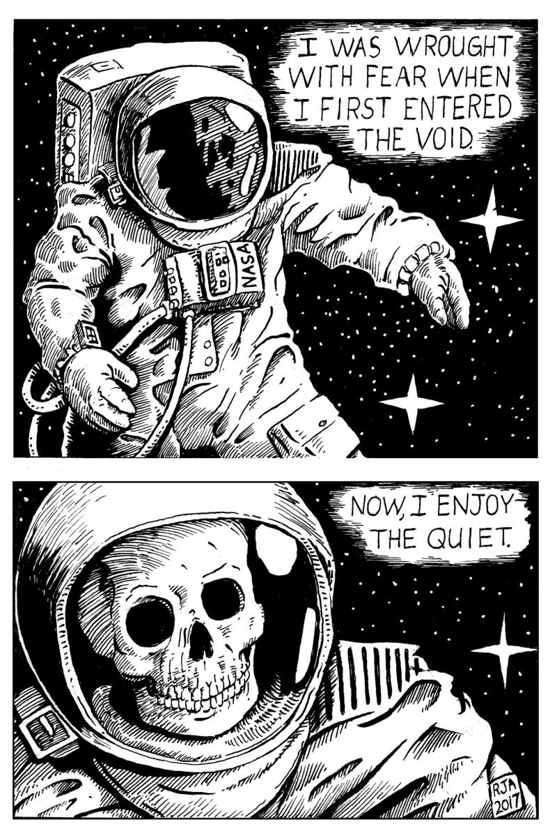 Dead Astronaut Comic - Space Oddity